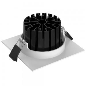 LED Allvalgusti PROLUMEN CL104 valge ruut 230V 8W 815lm CRI80 60° IP65 3000K soe valge