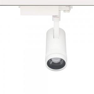LED track light PROLUMEN York DALI DIM white 230V 30W 2500lm CRI90 13-52° IP20 3000K warm white