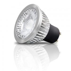 LED Pirn REVAL BULB ALU DIM 230V 7W 500lm CRI90 GU10 38° IP20 2700K soe valge