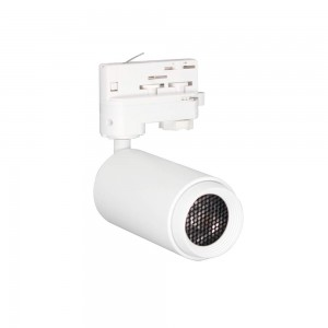 LED track light PROLUMEN Bath + Honeycomb filter white 230V 15W 1200lm CRI90 30° 3000K warm white