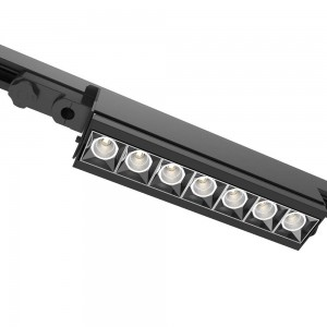 LED track light PROLUMEN Washington UGR black 230V 40W 4400lm CRI80 50° IP42 4000K pure white