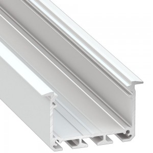 Alumiiniumprofiil Alumiiniumprofiil LUMINES INSO 2m valge