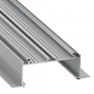 Alumiiniprofiili Alumiiniprofiili LUMINES SORGA 3m hopea