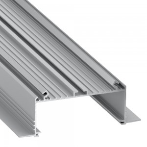 Aluminium profile LUMINES SORGA 3m silvery