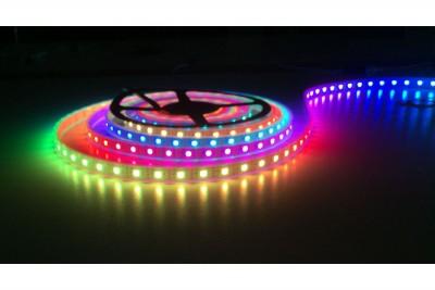 LED Riba REVAL BULB Digital PRO 5050 60LED 10m rull 24V 14.4W CRI80 120° IP67 RGB + 3000K RGBW soe