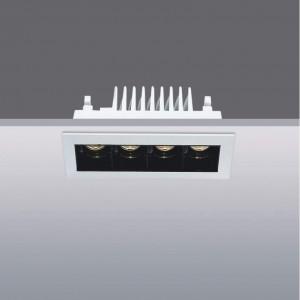 LED Allvalgusti LED Allvalgusti PROLUMEN 11131 DIM must 10W 670lm CRI90 60° IP20 4000K päevavalge