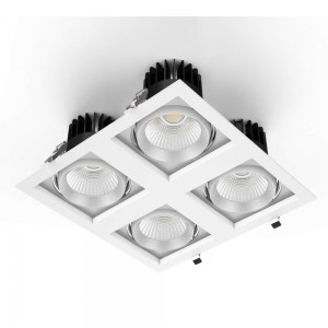 LED downlight PROLUMEN CL113A-6 360x360 4x25W white square 100W 10000lm CRI80 36° IP20 4000K pure white