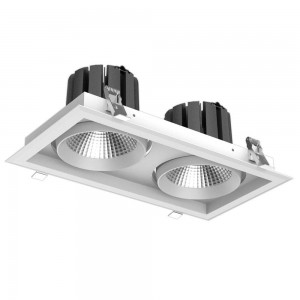LED downlight PROLUMEN CL99-2 white 230V 60W 6000lm CRI80 36° IP20 3000K warm white