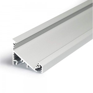 Alumiiniumprofiil Alumiiniumprofiil CORNER27 G/UX 3000 anod hõbedane