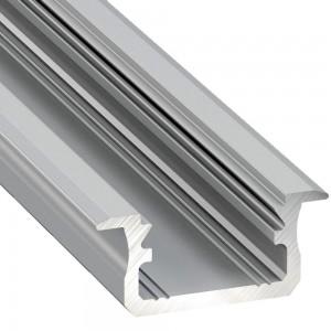 Alumiiniumprofiil Alumiiniumprofiil LUMINES Type B 2m hõbedane