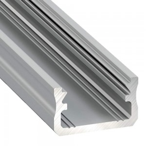 Aluminium profile Aluminium profile LUMINES Type A 2m silvery