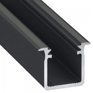 Алюминиевый профиль Алюминиевый профиль LUMINES Type G 2m черный