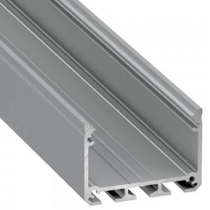 Aluminium profile Aluminium profile LUMINES ILEDO 2m silvery
