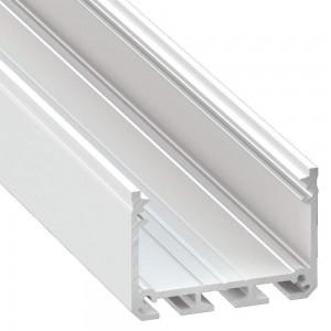 Alumiiniumprofiil Alumiiniumprofiil LUMINES ILEDO 2m valge