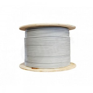 Cable Cable 5x0,75mm² RGBW 1m gray