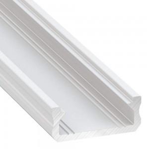 Aluminium profile Aluminium profile LUMINES Type D 2m white