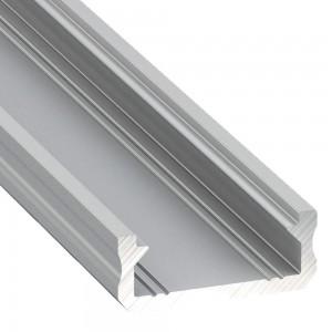 Alumiiniumprofiil Alumiiniumprofiil LUMINES Type D 2m hõbedane
