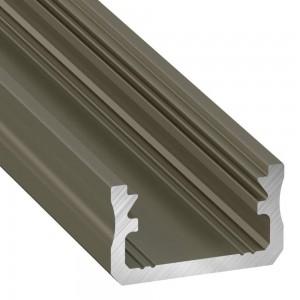 Aluminium profile Aluminium profile LUMINES Type A 2m inox