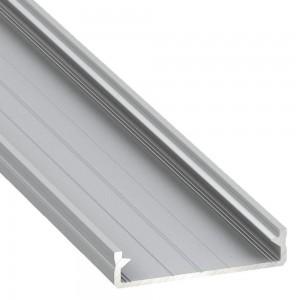 Aluminium profile Aluminium profile LUMINES SOLIS 2m silvery