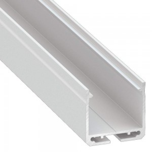 Aluminium profile LUMINES DILEDA 3m white