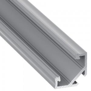 Alumiiniumprofiil Alumiiniumprofiil LUMINES Type C 2m hõbedane
