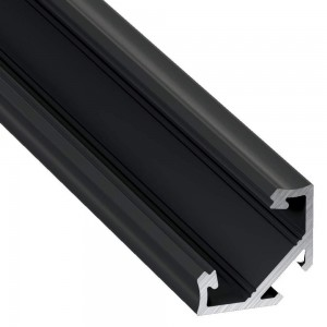 Aluminium profile Aluminium profile LUMINES Type C 2m black