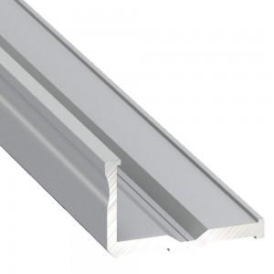 Alumiiniumprofiil Alumiiniumprofiil LUMINES Type E 2m hõbedane