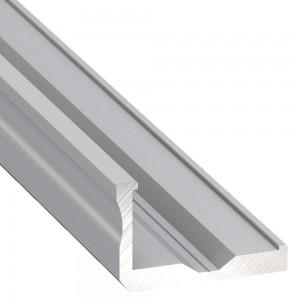 Alumiiniumprofiil Alumiiniumprofiil LUMINES Type F 2m hõbedane