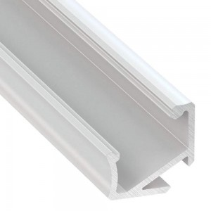 Aluminium profile Aluminium profile LUMINES Type H 2m white