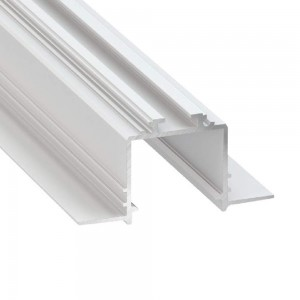 Aluminium profile LUMINES Subli white