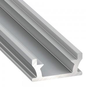 Алюминиевый профиль Алюминиевый профиль LUMINES TERRA 2m серебряный