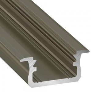 Aluminium profile LUMINES Type B 2m inox