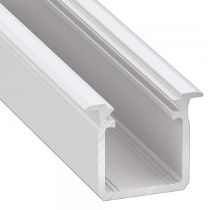 Aluminium profile LUMINES Type G 2m white
