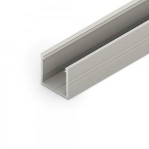 Alumiiniumprofiil SMART16 B/U4 2m hõbedane