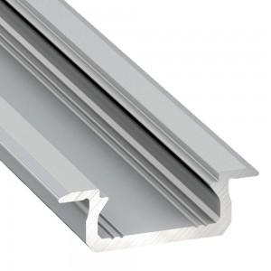 Alumiiniprofiili Alumiiniprofiili LUMINES Type Z 2m hopea