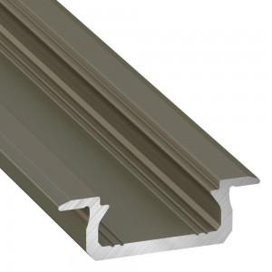 Alumiiniumprofiil Alumiiniumprofiil LUMINES Type Z 2m inox