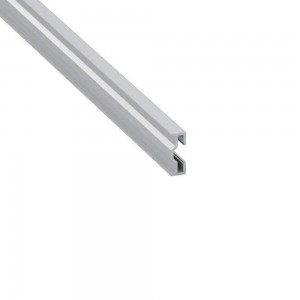 Aluminium profile Sparo 2m silvery