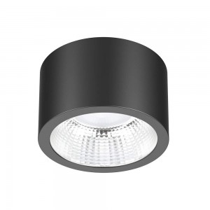 LED downlight PROLUMEN DL115A black 18W 1890lm CRI80 90° IP54 4000K pure white