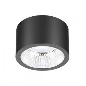 LED downlight LED downlight PROLUMEN DL115A black 18W 1890lm CRI80 90° IP54 4000K pure white