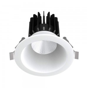 LED downlight PROLUMEN DL88 2,5 DALI white round 230V 10W 780lm CRI90 24° IP20 3000K warm white