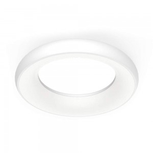 LED luminaire PROLUMEN AL24B Pendant TRIAC silvery 230V 35W 2835lm CRI80 120° IP40 3000K warm white