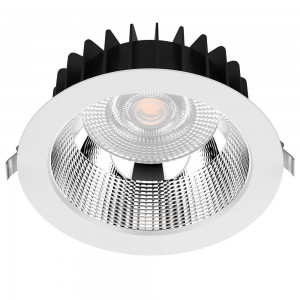 LED downlight PROLUMEN DL178-4 UGR19 white 230V 10W 980lm CRI80 60° IP54 3000K warm white