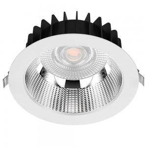 LED downlight LED downlight PROLUMEN DL178-4 UGR19 white 230V 10W 980lm CRI80 60° IP54 3000K warm white