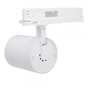 LED track light PROLUMEN Bristol + Honeycomb filter white 230V 32W 3200lm CRI90 36° IP20 3000K warm white