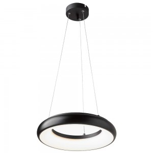 LED luminaire PROLUMEN AL24B Pendant DIM black 230V 35W 3185lm CRI80 120° IP40 4000K pure white