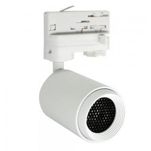 LED track light PROLUMEN Bath + Honeycomb filter white 230V 8W 650lm CRI90 50° IP20 3000K warm white