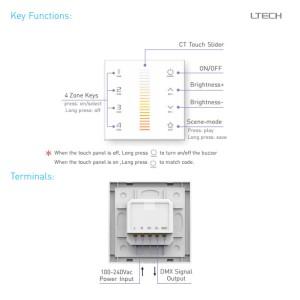 Control panel LTECH EX6 230V IP20