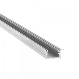 Aluminium profile LUZ NEGRA Berlin 2m silvery