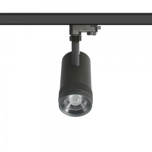LED track light PROLUMEN Luxembourg ZOOM DIM black 230V 20W 1800lm CRI90 13-52° IP20 2700K warm white