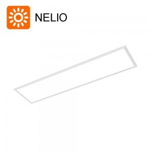 LED panel NELIO 1200x300 white 230V 40W 3400lm CRI80 120° IP20 4000K pure white